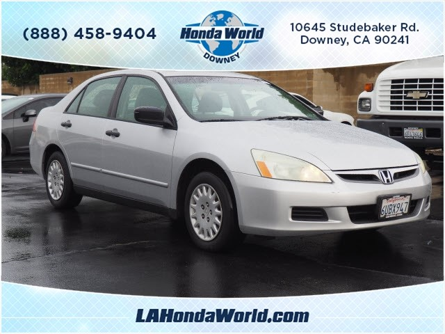 Pre-Owned 2007 Honda Accord Value Package