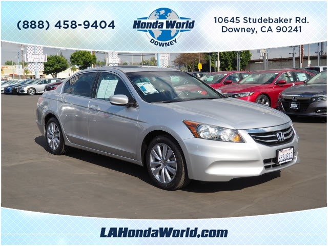 Pre-Owned 2011 Honda Accord EX EX 4dr Sedan 5A in Downey #381134-1
