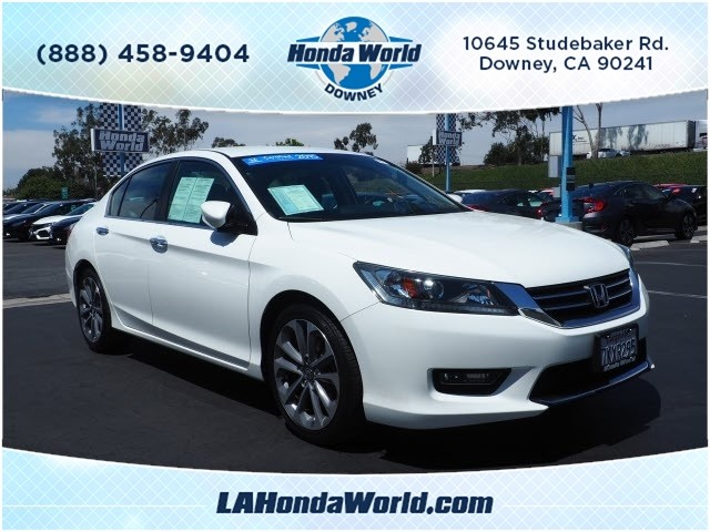 Certified Pre-Owned 2015 Honda Accord Sport Sport 4dr Sedan CVT in