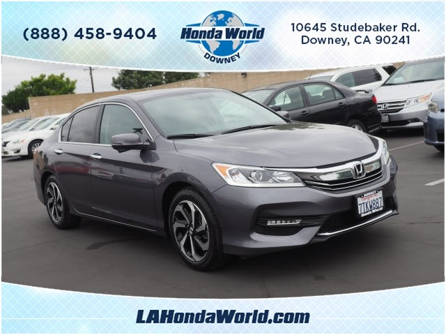 Certified Pre-Owned 2016 Honda Accord EX-L EX-L 4dr Sedan in Downey
