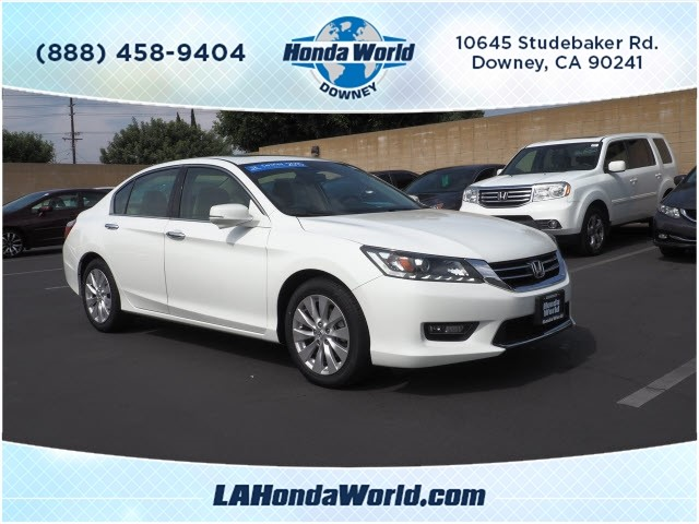 Certified Pre-Owned 2015 Honda Accord EX-L V6 EX-L V6 4dr Sedan in