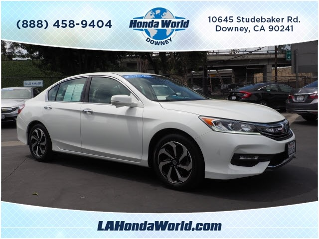 Certified Pre-Owned 2016 Honda Accord EX-L V6 EX-L V6 4dr Sedan in