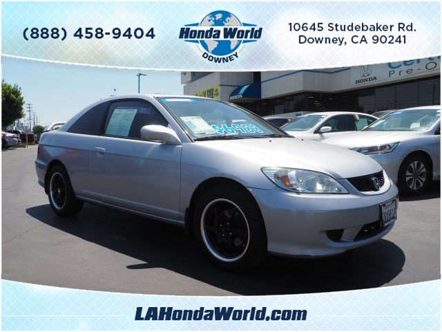 Pre-Owned 2004 Honda Civic EX EX 2dr Coupe in Downey #381966-1 ...