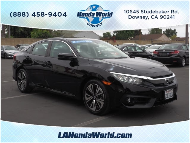 Certified Pre-Owned 2016 Honda Civic EX-T EX-T 4dr Sedan in Downey