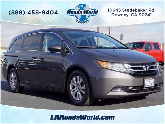 Certified Pre-Owned 2015 Honda Odyssey EX EX 4dr Mini-Van in Downey