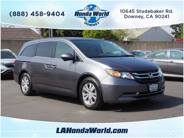 Certified Pre-Owned 2014 Honda Odyssey EX EX 4dr Mini-Van in Downey