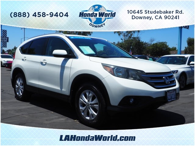 Certified Pre Owned 2013 Honda CR V EX L