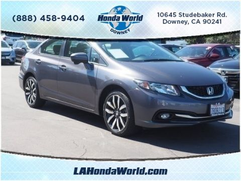 Certified Pre-Owned 2015 Honda Civic EX-L w/Navi